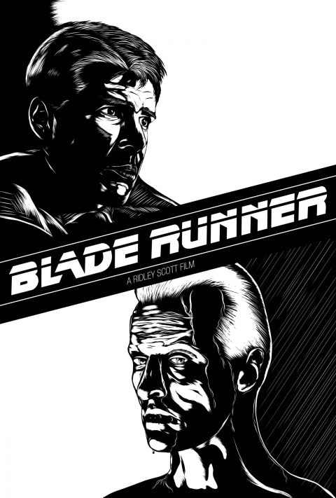 Blade Runner Black & White