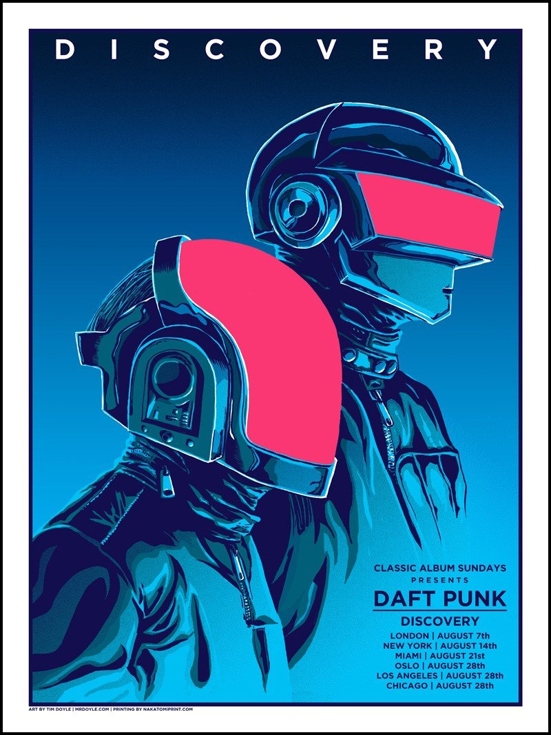 DAFT PUNK REGULAR