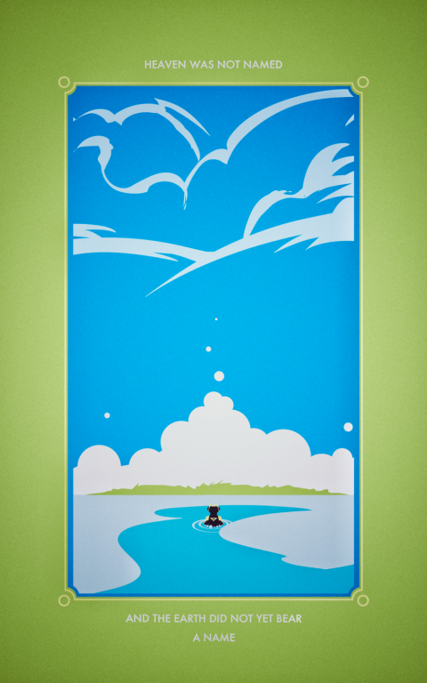 To Know, Water: An ABZÛ Triptych