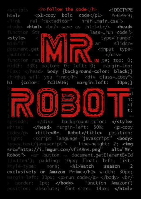 Follow the Code – Mr. Robot Season 2