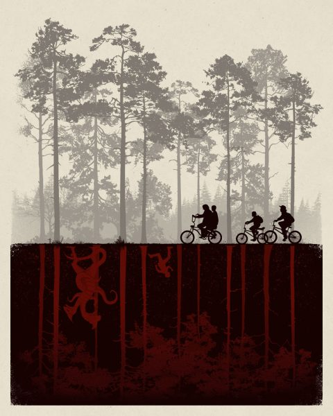 Stranger Things – The Upside Down