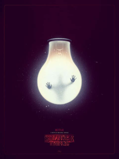 Stranger Things Tribute Poster
