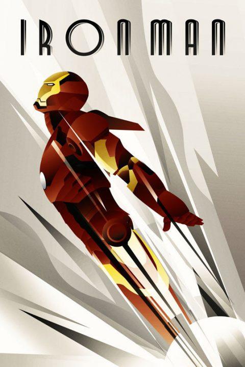 Iron Man ART DECO