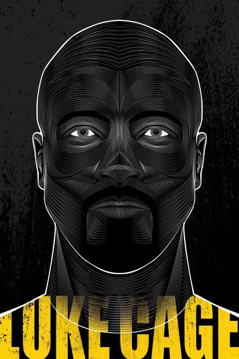 Luke Cage- Vector Poster