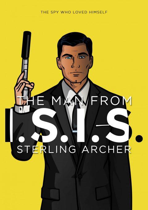 Archer x The Man from U.N.C.L.E. Mashup