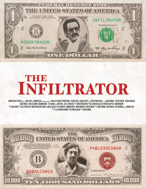The Infiltrator Money Poster