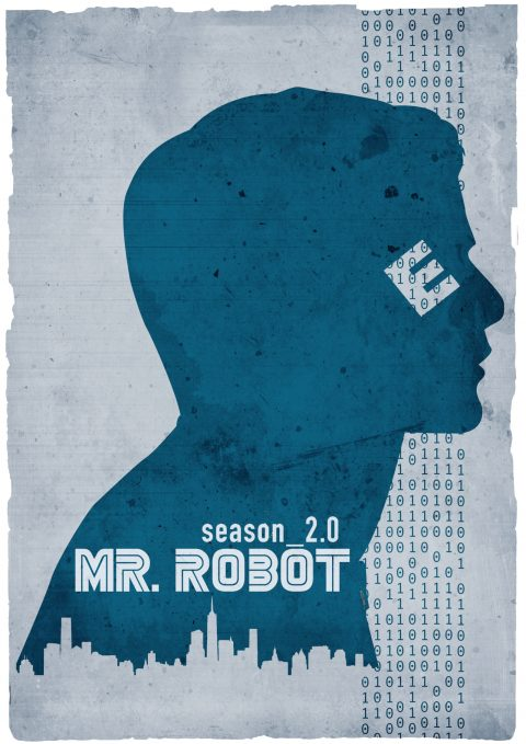 Mr. Robot S02 Blue