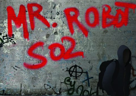 Mr. Robot S02 Graffiti