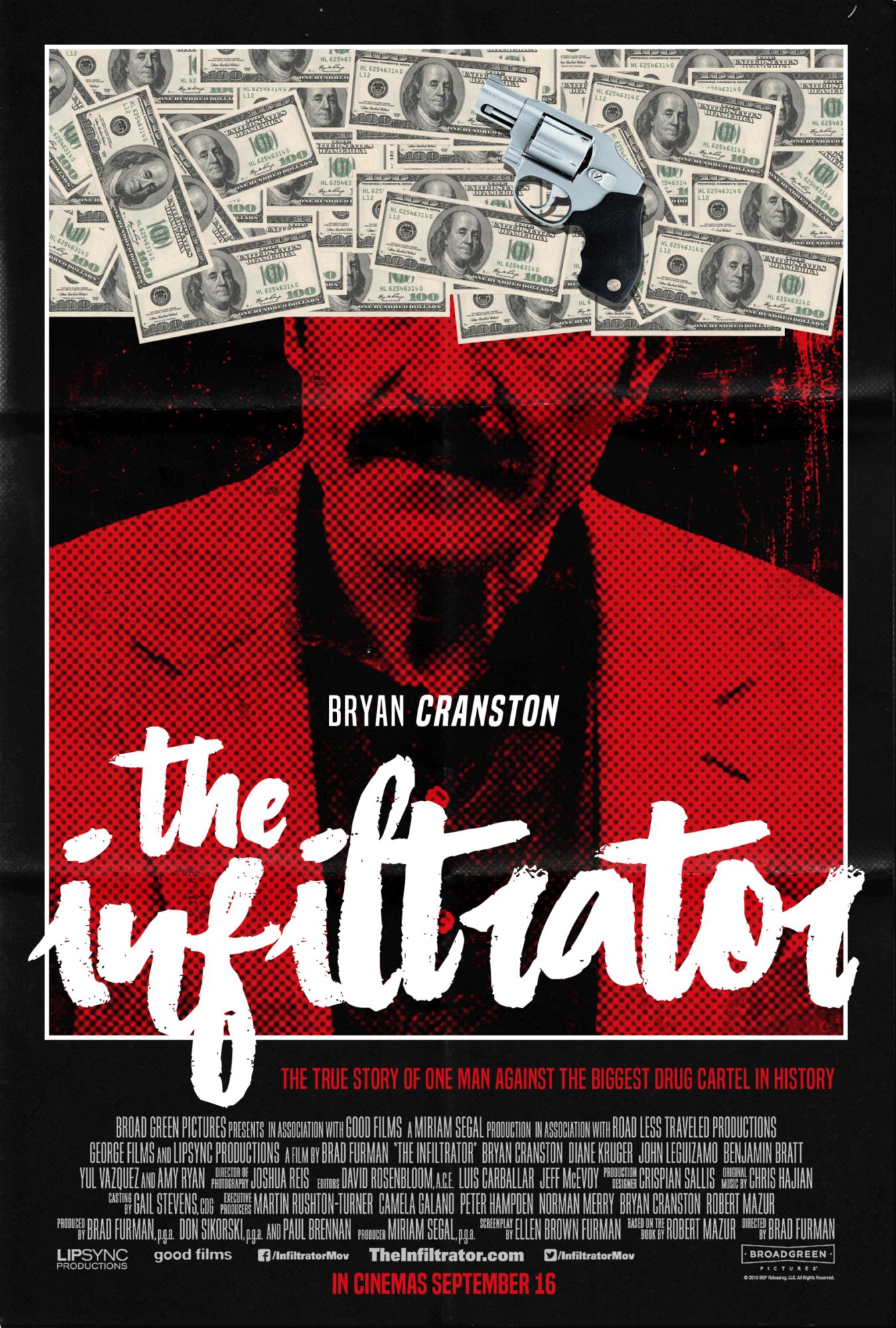 The Infiltrator Poster u2013 PosterSpy