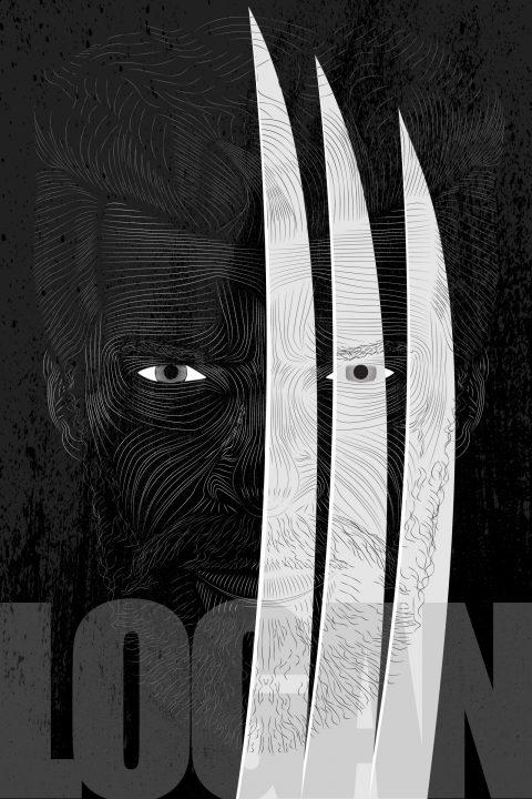 Logan- Vector Line Poster