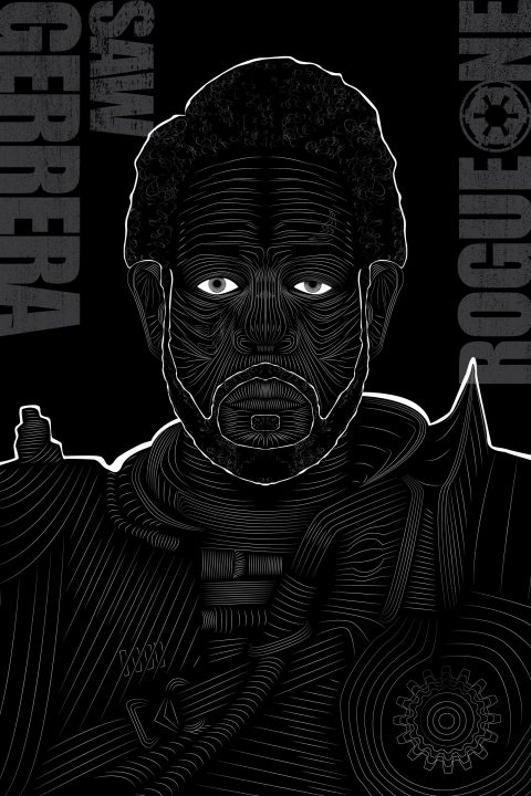 Rogue One (Saw Gerrera)- Vector Poster
