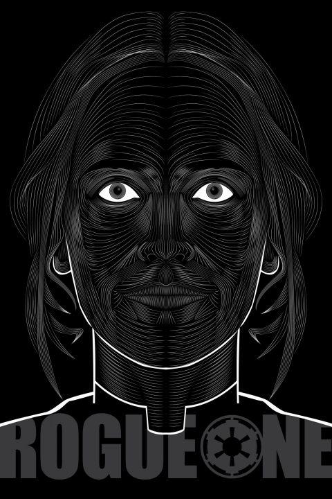 Rogue One (Jyn Erso)- Vector Blend poster