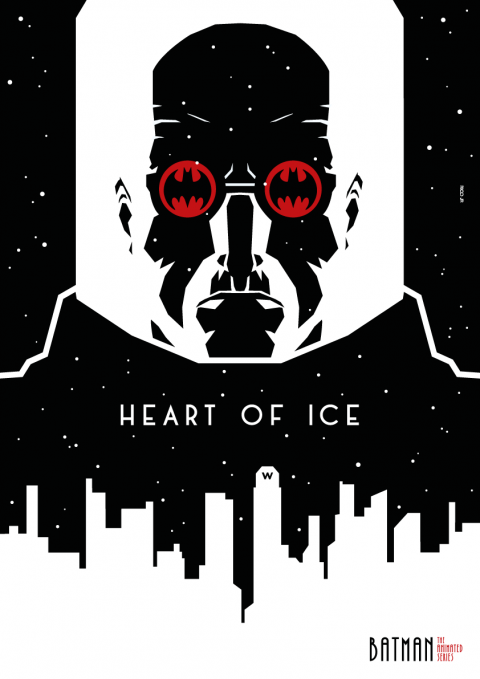 MR. FREEZE Poster Art