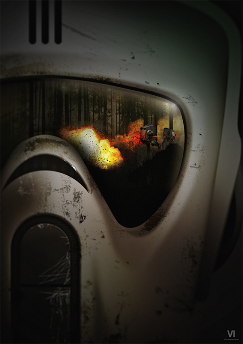 Visions of War (Scout Trooper)