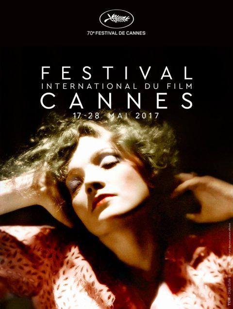 improbable affiche du Festival de Cannes 2017 – MARLENE DIETRICH