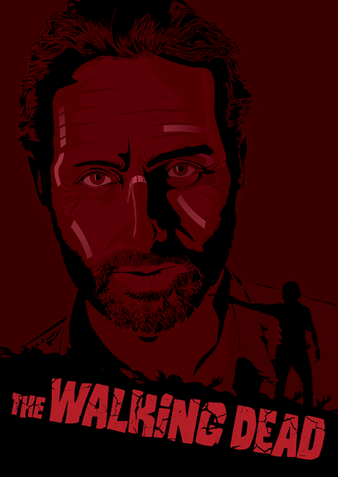 The Walking Dead – Rick Grimes Portrait