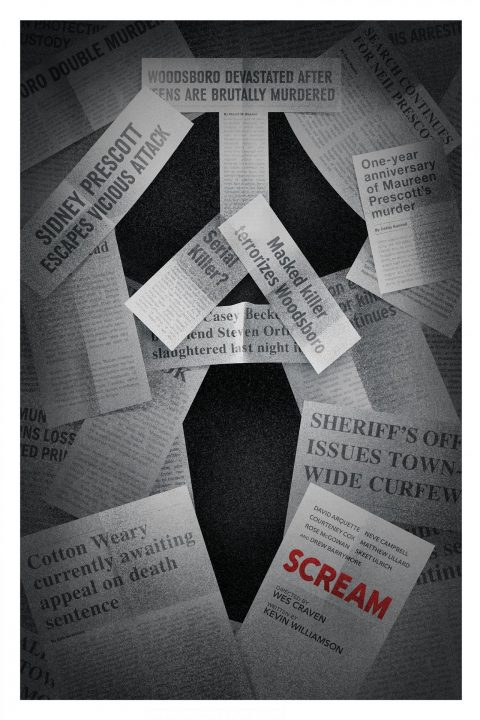 Scream, 20th Anniversary Alternate Poster