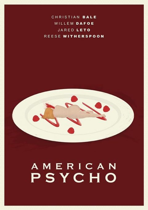 American Psycho Minimal Poster