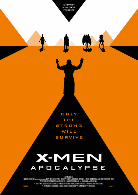 X-MEN: APOCALYPSE Poster Art