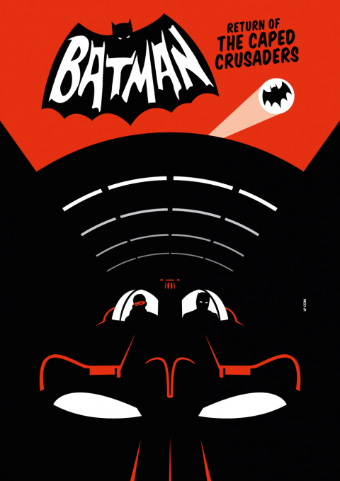 BATMAN: RETURN OF THE CAPED CRUSADERS Poster Art