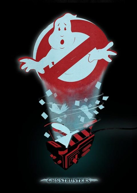 Ghostbusters Minimal Poster