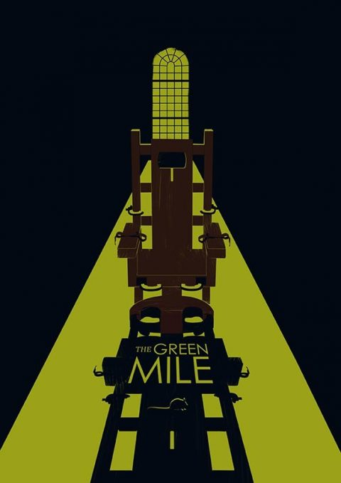 The Green Mile minimal Poster