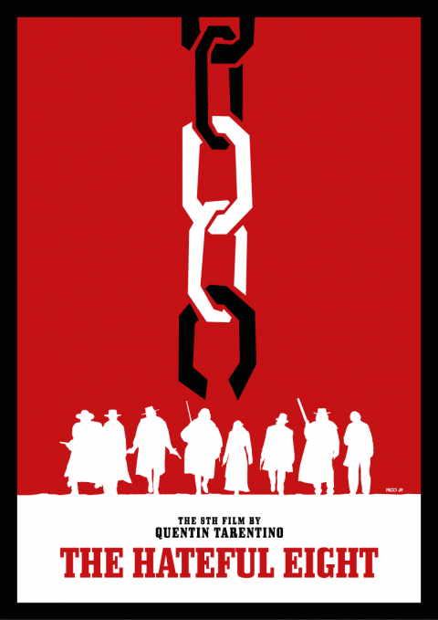 THE HATEFUL EIGHT Tribute Poster