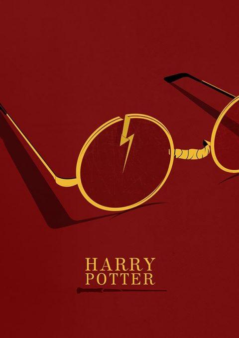 Harry Potter minimal poster