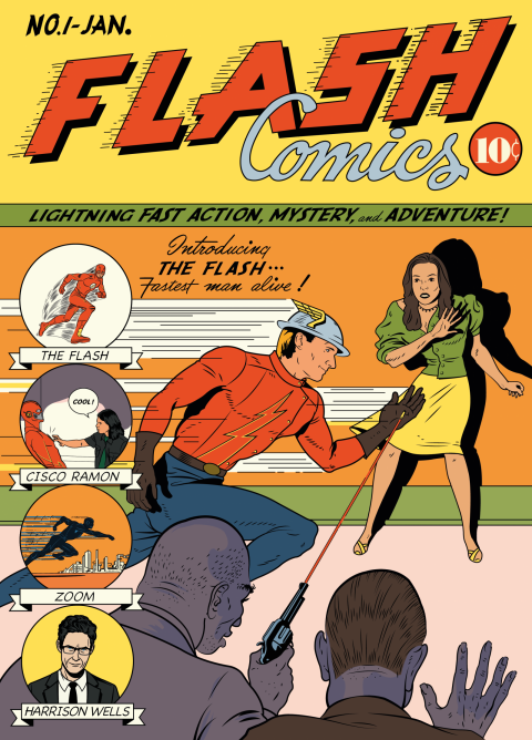 THE FLASH Tribute Cover
