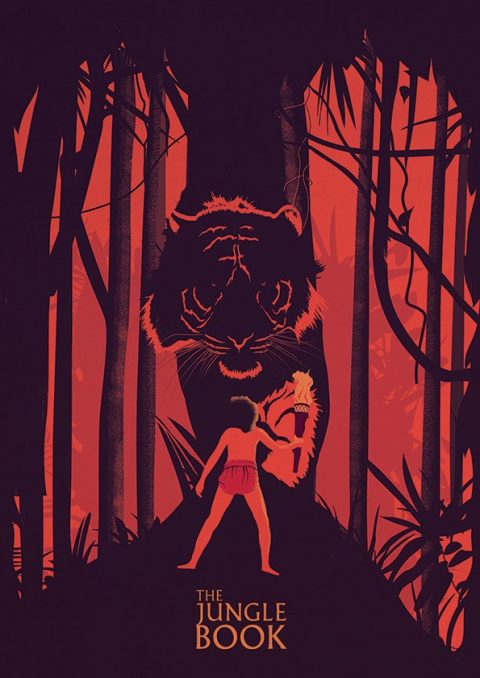 Jungle Book Minimal Poster