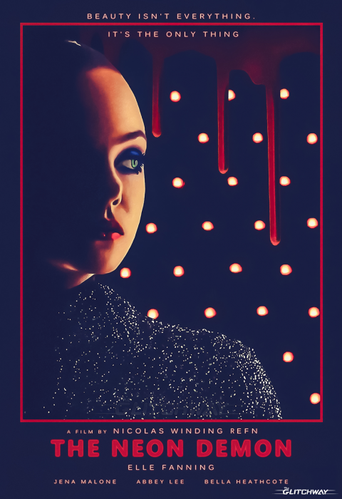 """The Neon Demon"" Poster (2º version)"