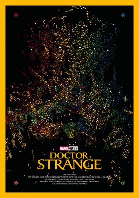 DOCTOR STRANGE Poster Art