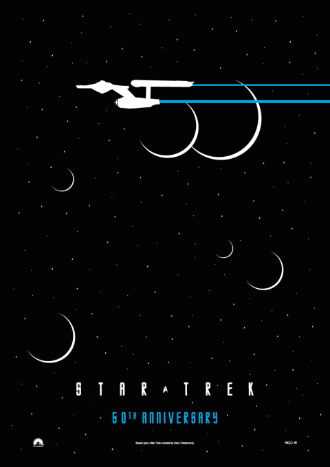STAR TREK (50th Anniversary) Poster Art