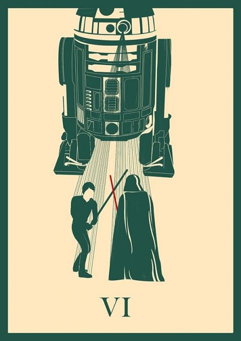 Star Wars – Return of the Jedi Minimal Poster