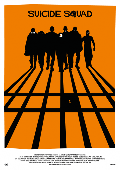 SUICIDE SQUAD Poster Art