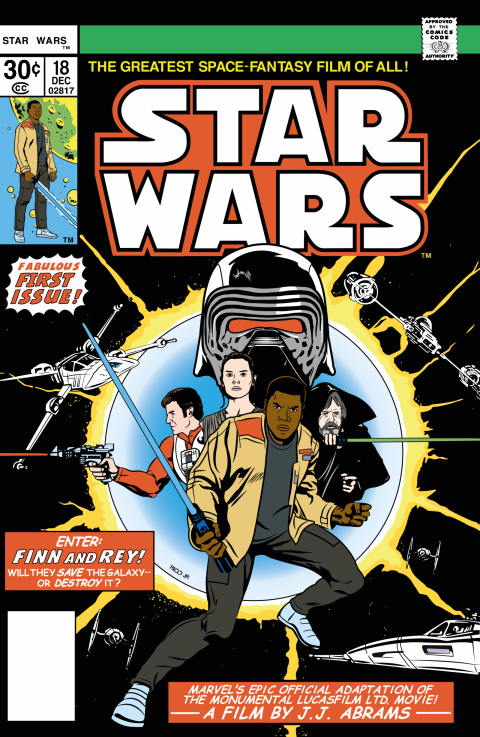 STAR WARS Episode VII Tribute Cover