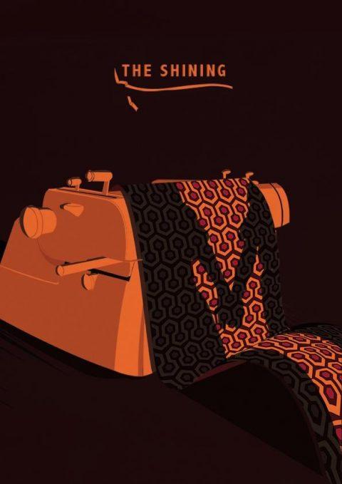 The Shining Minimal Poster