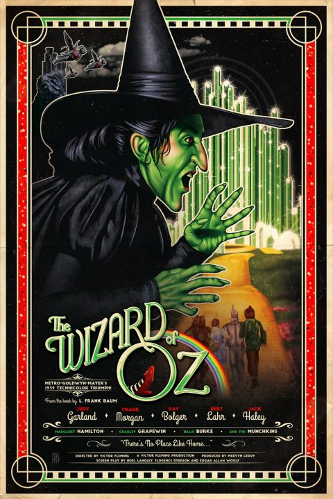 The Wizard of Oz (Film Poster)