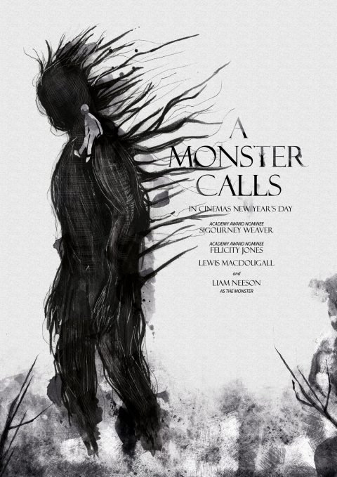 A Monster Calls Alternative Poster