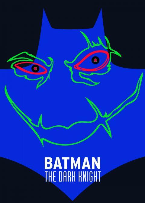 Batman The Dark Knight Minimalist Movie Poster