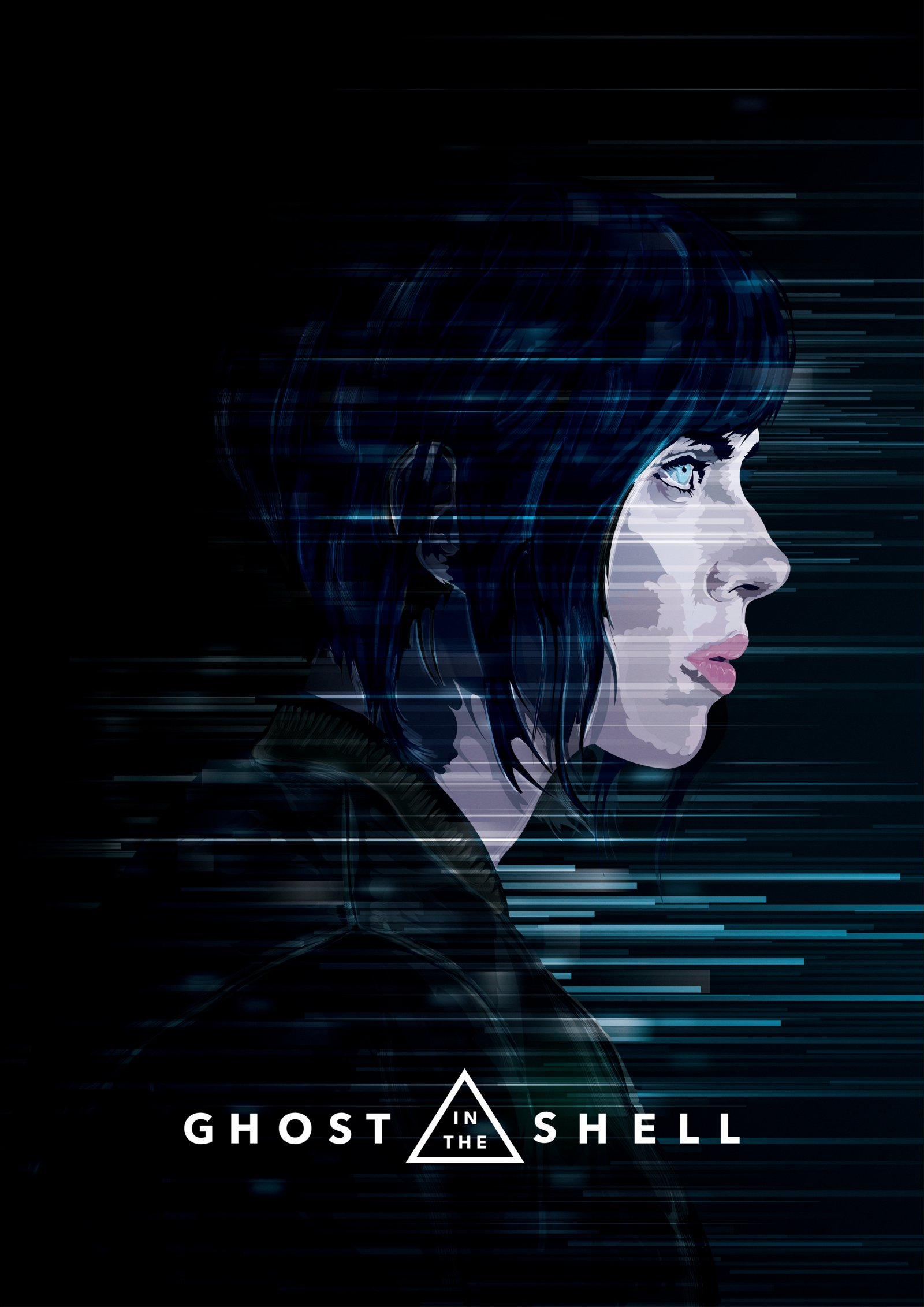 Ghost In The Shell Posterspy