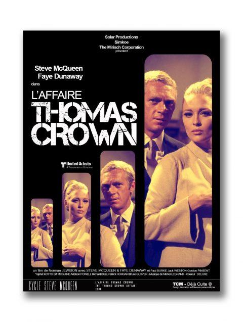 L'Affaire Thomas Crown, The Thomas Crown Affair – STEVE MCQUEEN, FAYE DUNAWAY