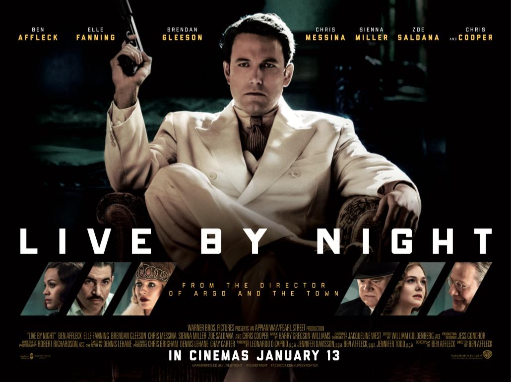 Resultado de imagem para Live by Night 2017 posters