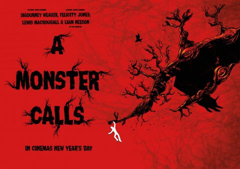 A Monster Calls A2 poster By thatdoddything