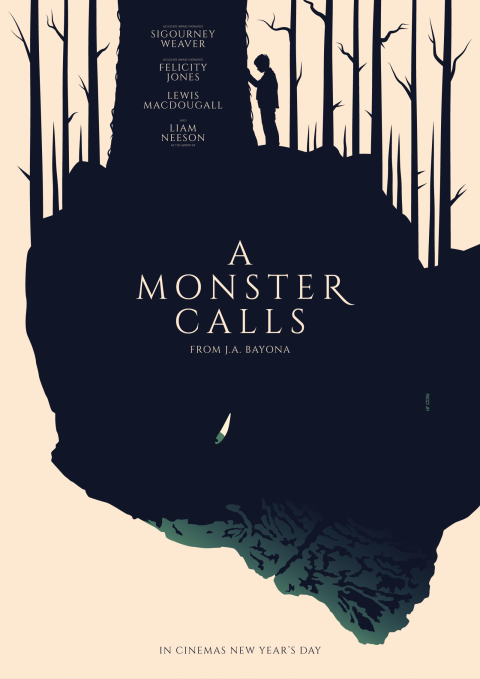 A MONSTER CALLS Poster Art