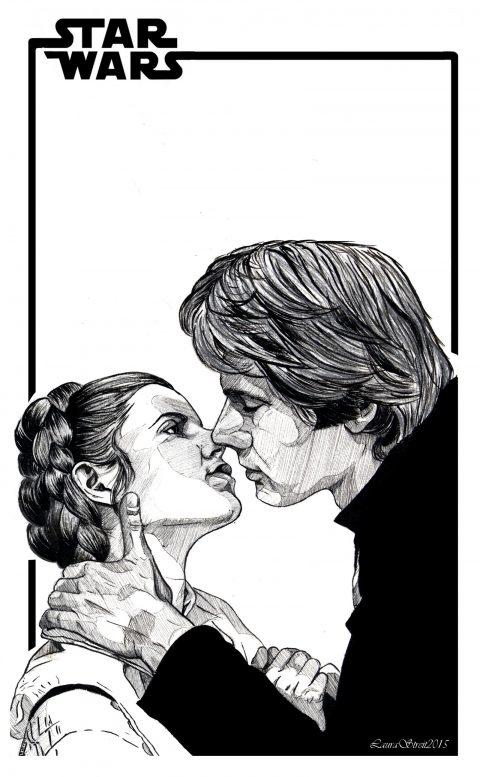 Han x Leia