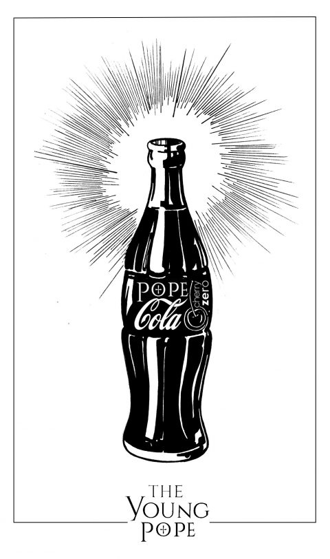 Pope Cola cherry zero