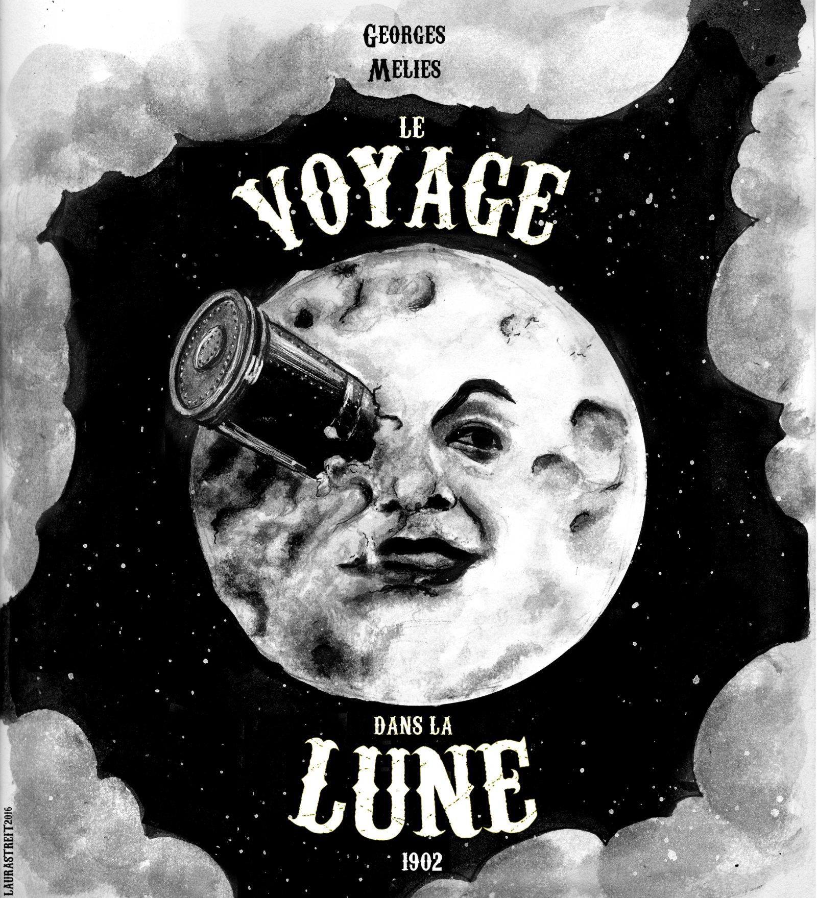 Collections Jobs Le Voyage Dans La Lune Posterspy