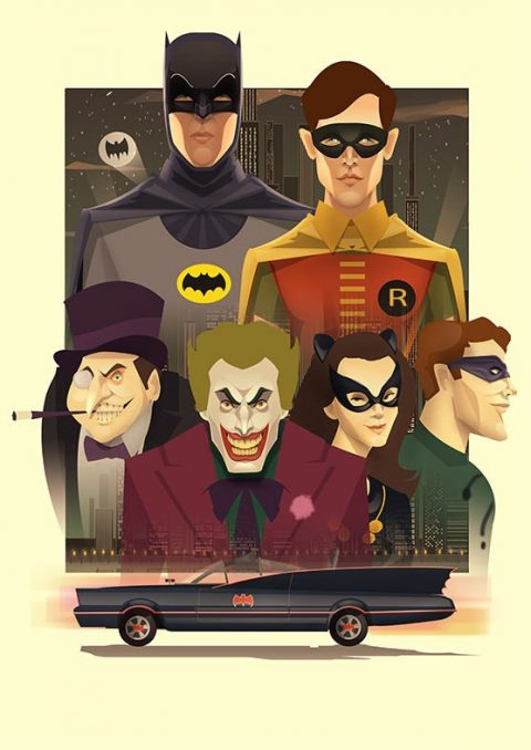 Batman the return of the caped crusaders Poster