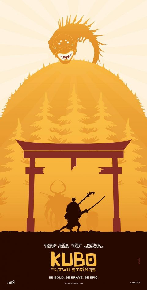 KUBO AND THE TWO STRINGS Poster Art